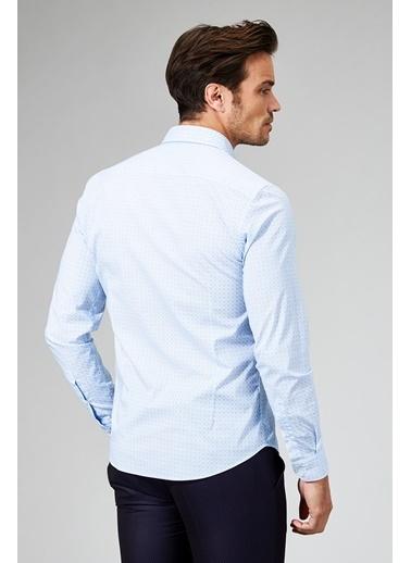 Avva Slim Fit Uzun Kollu Gömlek Mavi